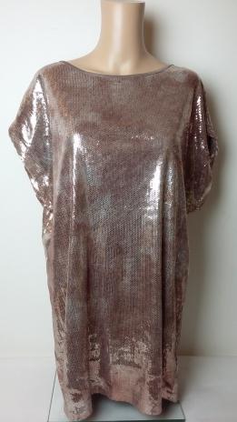 VILA CLOTHES TUNIKA ÓARANY (36)