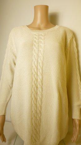 ANONYM-pulóver-krém (46,48)