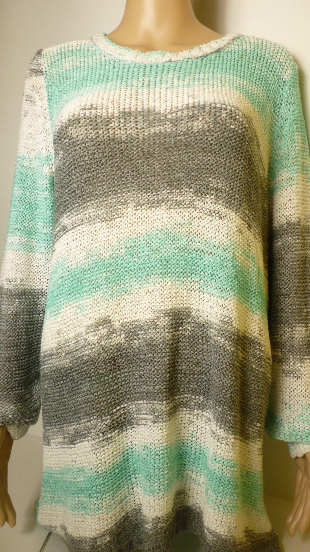 GINA BENOTTI-pulóver-szürke (44,46)