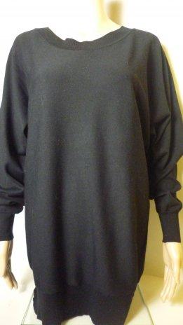 GINA BENOTTI-blúz-fekete (46,48)