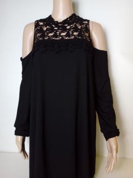 BODY FLIRT-tunika-fekete (48,50)