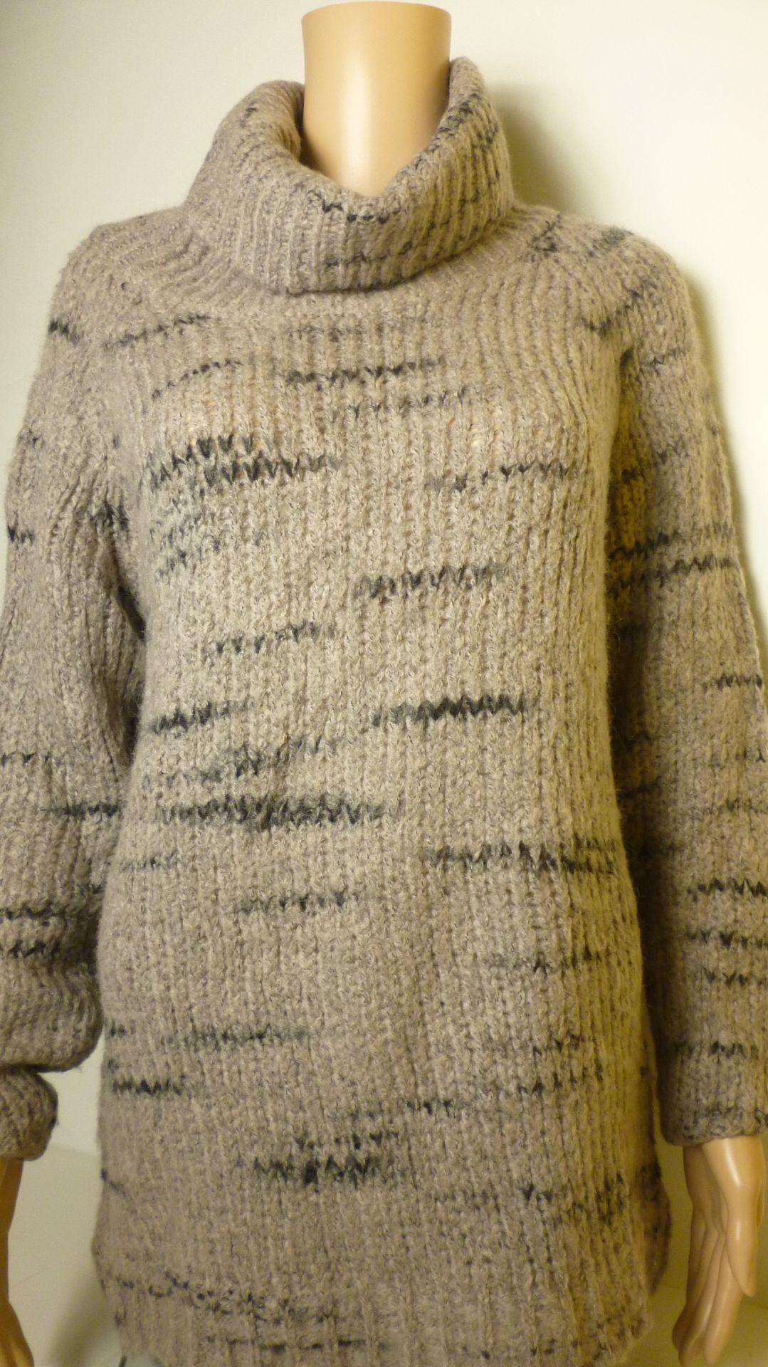 YAYA-pulóver-barna (38,40)
