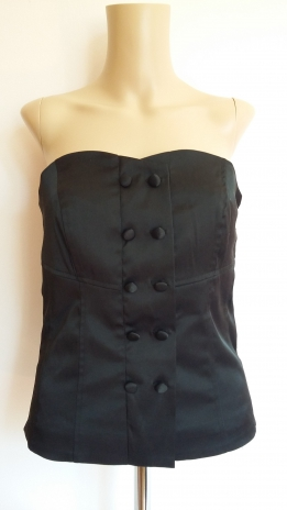 VILA CLOTHES TUNIKA FEKETE (38)
